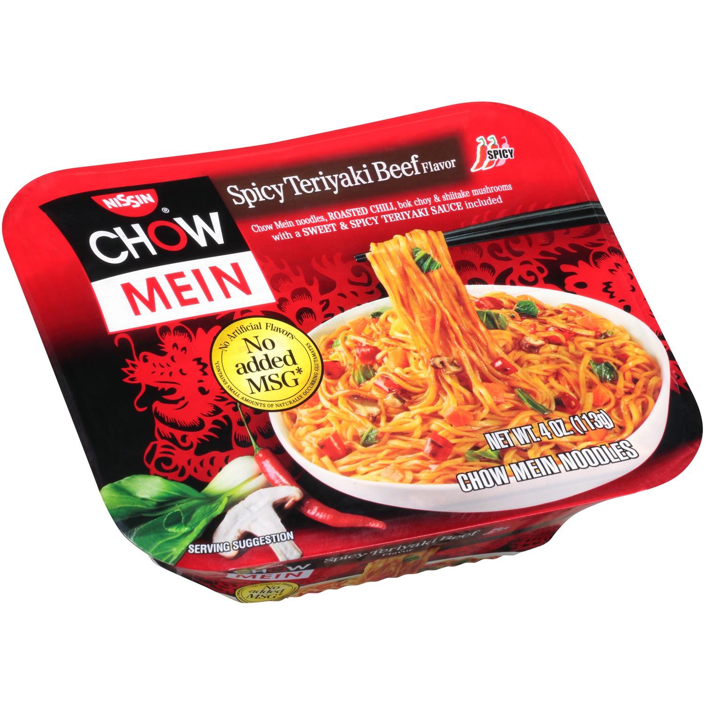 Nissin Chow Mein Spicy Teriyaki Beef 8 4 Oz Epallet