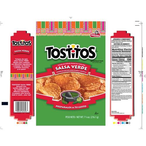 Corn Tortilla Chips 7.625 oz Bag