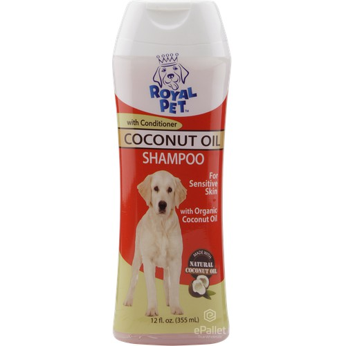 ROYAL PET Coconut Oil Shampoo with Conditioner - 12/12 oz | ePallet