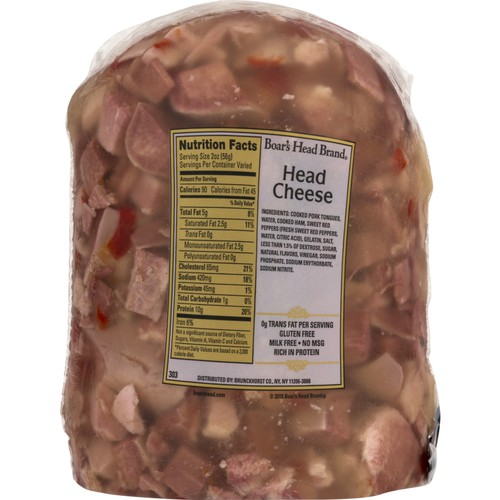 Head Boar's Head Deli Head Cheese