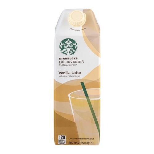 Starbucks Starbucks Discoveries Iced Cafe Favorites Vanilla
