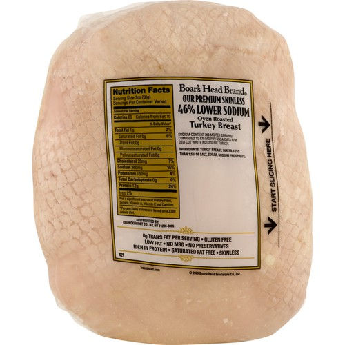 Turkey Breast Premium Lower Sodium