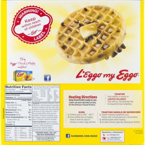 Eggo Waffles Chocolatey Chip