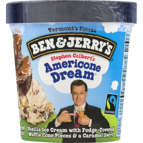 Ben Jerry S Ben Jerry S Ice Cream Stephen Colbert S Americone Dream Epallet Видео ben & jerry»s americone dream ice cream review канала jay rule. ben jerry s ice cream stephen