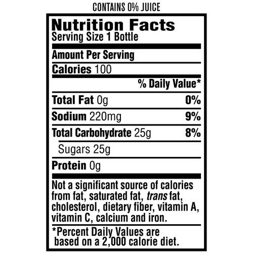 Mango Iced Tea 16.9 fl. oz. Bottle