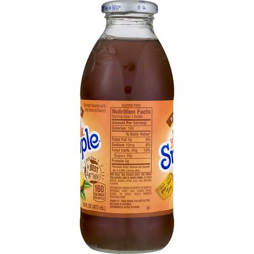 Snapple Snapple Juice Drink Peach Tea