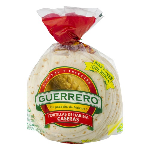 Guerrero Guerrero Fajita Flour Tortillas 20 Ct Epallet