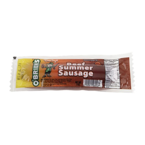 O Brien S Beef Summer Sausage 40 5 Oz Epallet